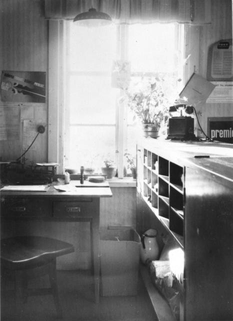 Poststationen i Lovikka inrättades 1933 och drogs in 1993. Lovikka ersatte den tidigare benämningen på poststationen som var Lahti och inrättades 1912 och namnändrades till Lovikka 1933.