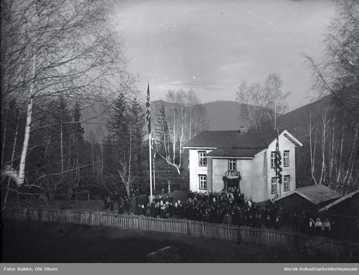 Folkeavstemning på Sognehuset i Atrå.
