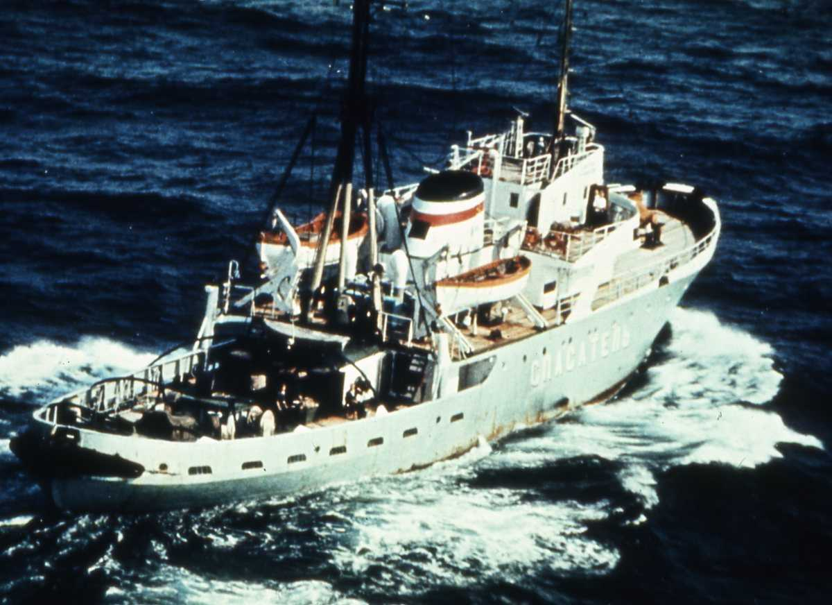 Russisk fartøy av Atlant - klassen.
