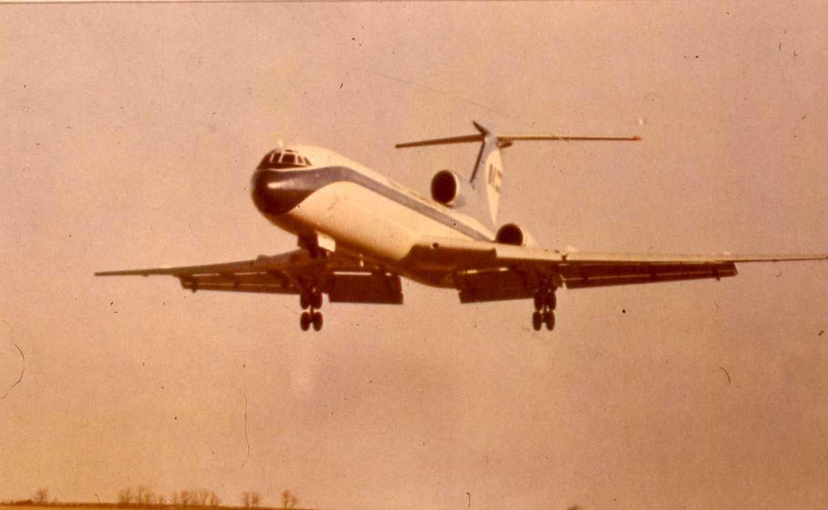 Russisk fly av typen Careless.