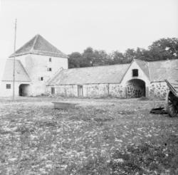 Engeltofta, Skåne Exteriör  Svensk arkitektur: kyrkor, he