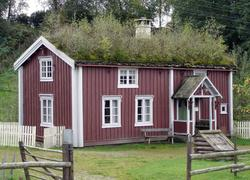 Vegvokterbolig fra Vaterholmen i Inndalen