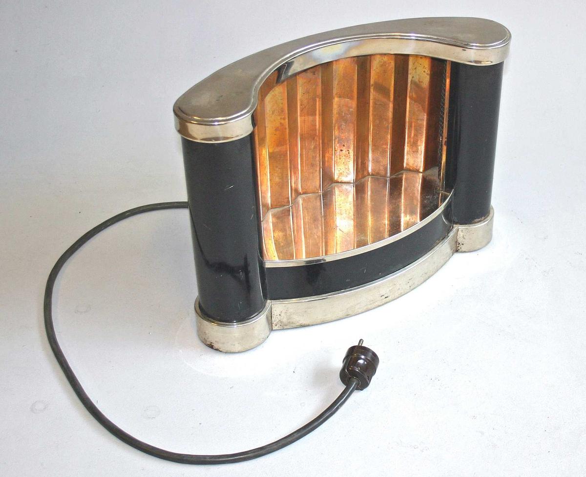 Elektrisk ovn i art decostil