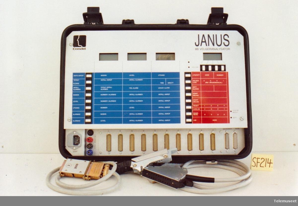 Velgeranalysator for 8B. JANUS