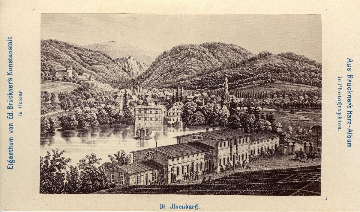 Ur:  Brückners Harz-Album: Jlsenburg