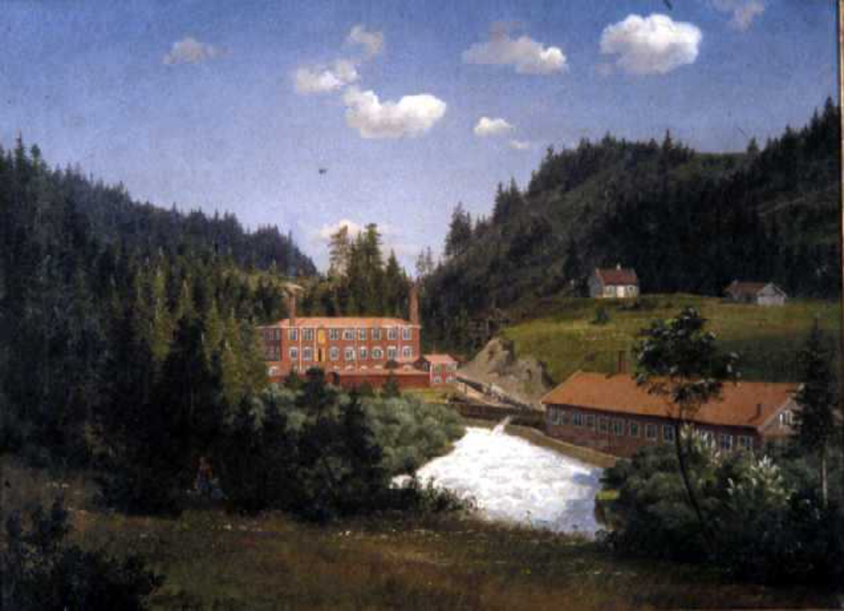 Nydalen fabrikker [landskap]