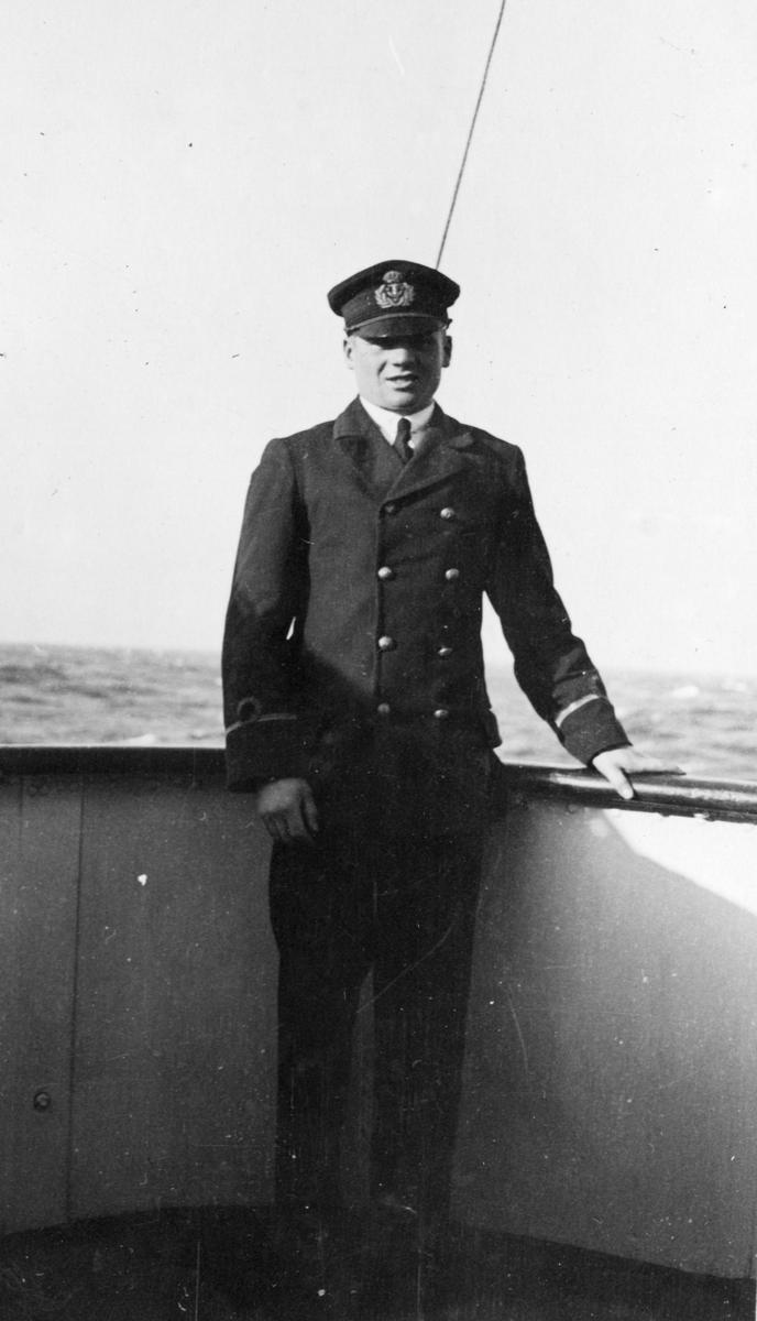 Fylgias resor 1924-25. Baron