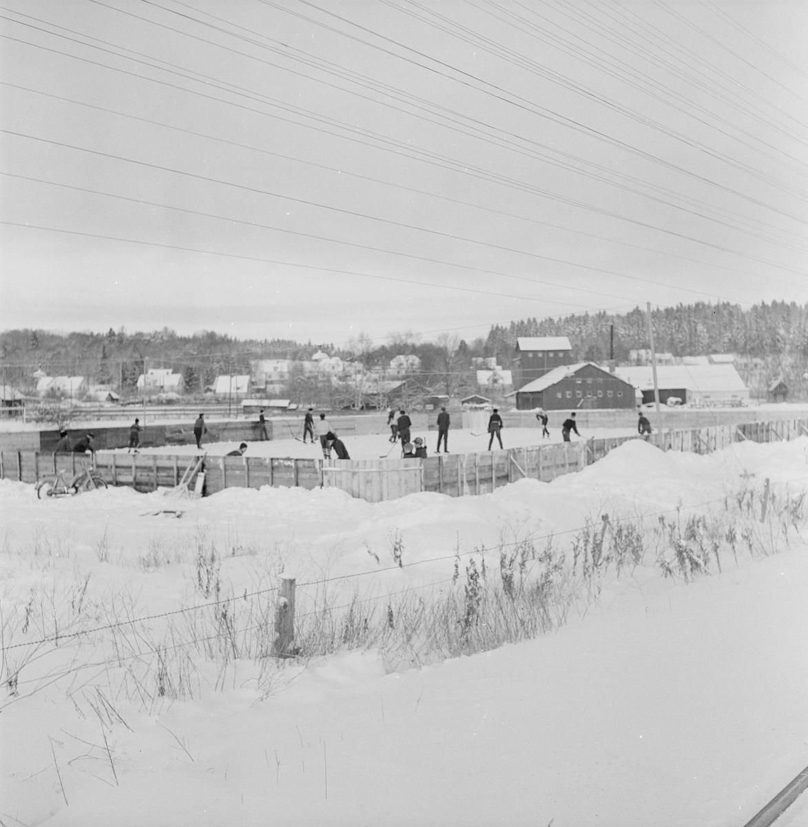 Ishockeyplan, Uppland 1959