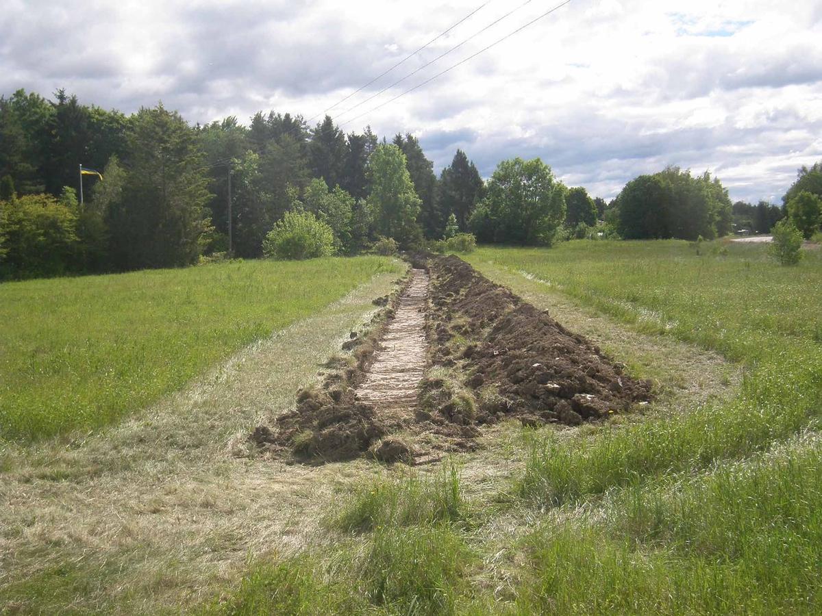 Arkeologisk förundersökning, schakt 101, Bälinge, Bälinge socken, Uppland 2014