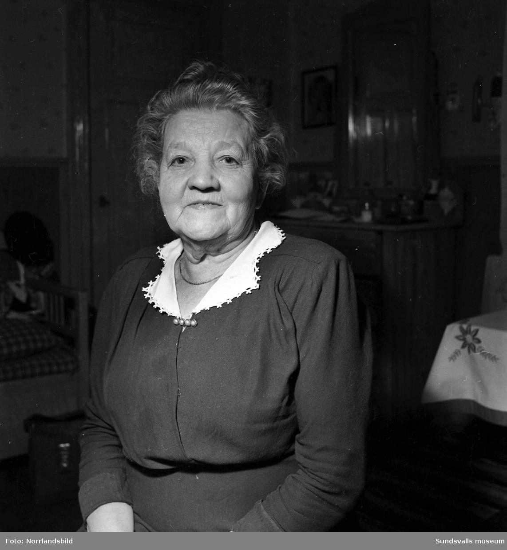 Fru Antoinetta Nyman, Tunaby, 70 år.