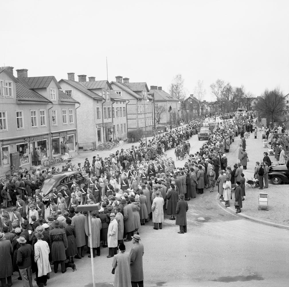 Barnens Dag - tåget.22 maj 1955