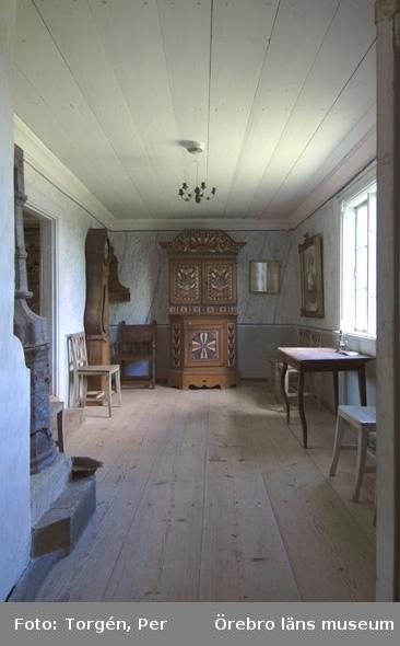 Siggebohyttans bergsmansgård, interiör.Juni 2005.