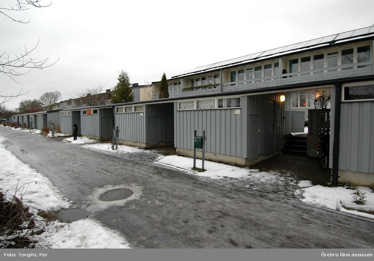 Dokumentation av bostadsområdet Markbacken i Örebro.Markbacken III, bostadshus.Dnr: 2005.250.361