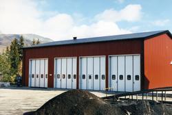 Nybygget til Statens Vegvesen står ferdig i 1988.