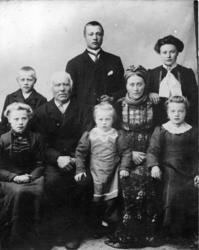Sjugurd Sjugurdsson Tuv (1844-1917) og Ingebjørg Olsdotter A