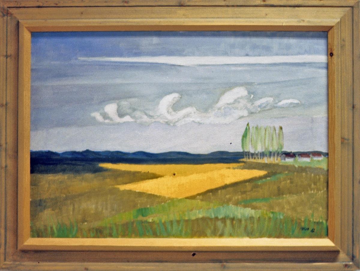 Fransk landskap [Maleri]