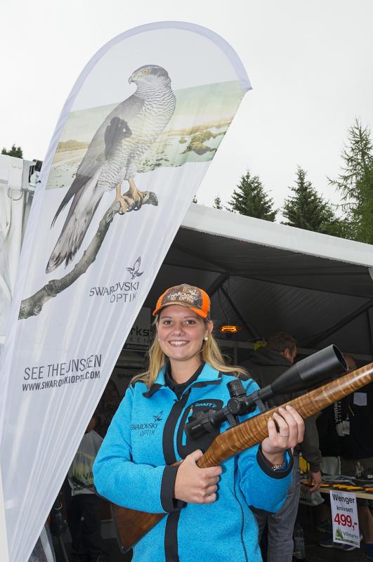 Utstiller jaktvåpen, De nordiske jakt- og fiskedager 2015