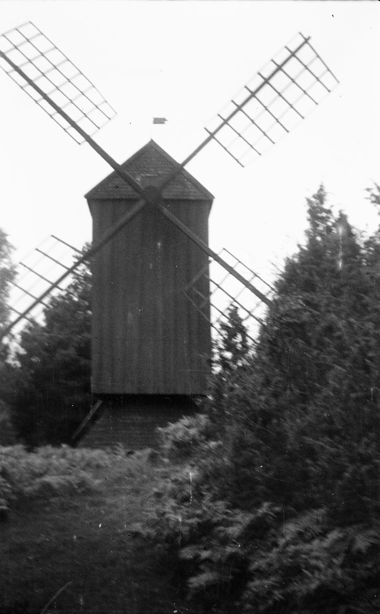 Väderkvarn vid Erikskulle, Söderby-Karl, Uppland 1932