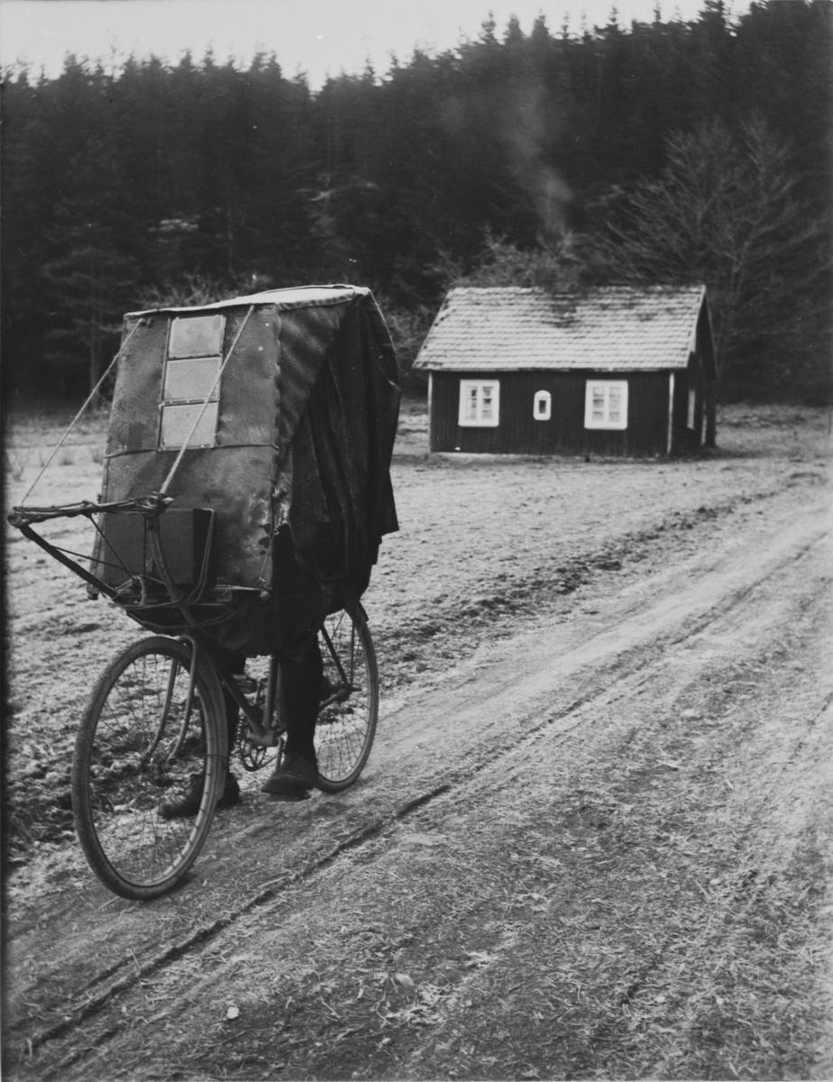 """""""Cykelkupé"""" att användas vintertid."""