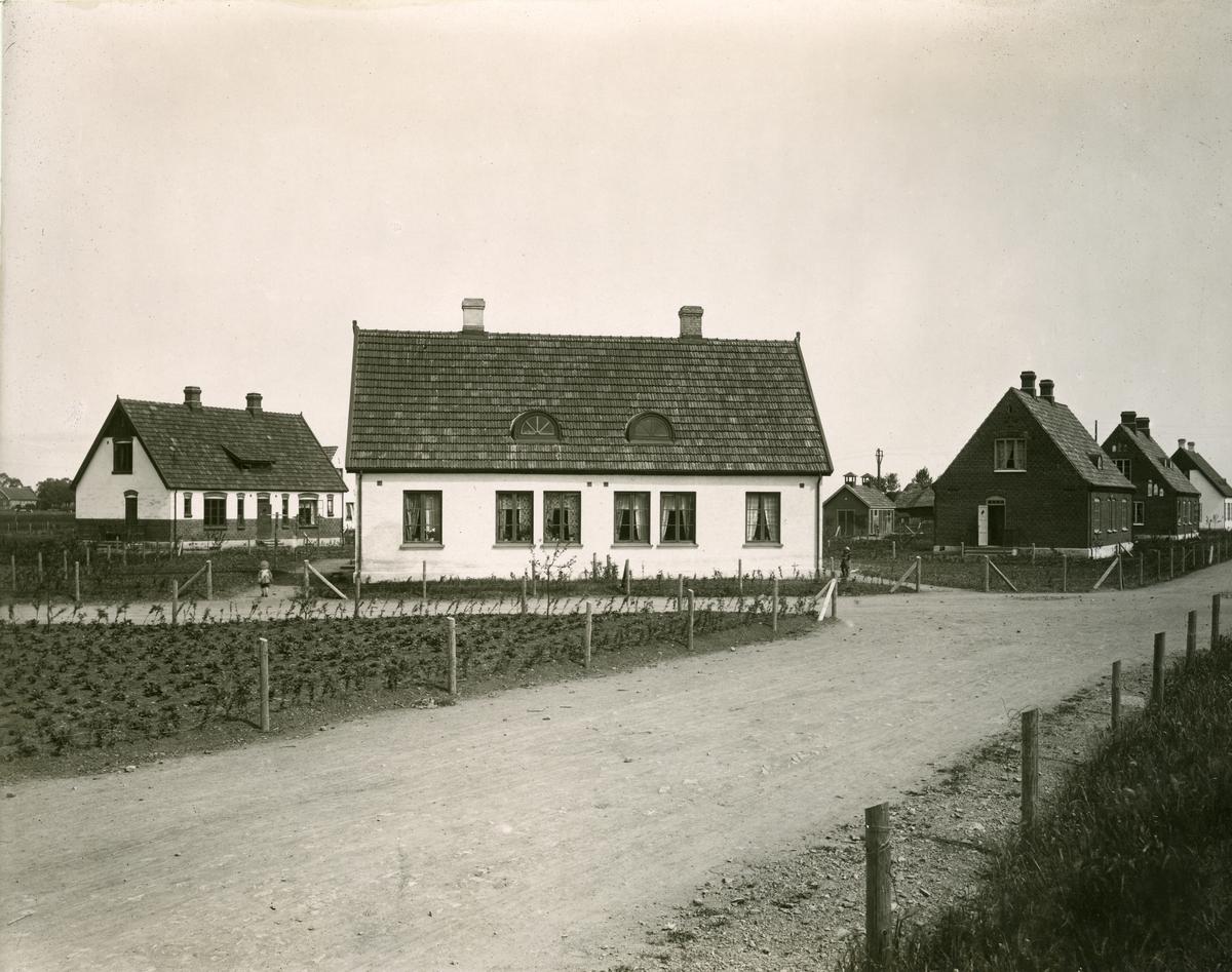 Nyvångs samhälle, Omarstorps gruvor. 1920-talet.