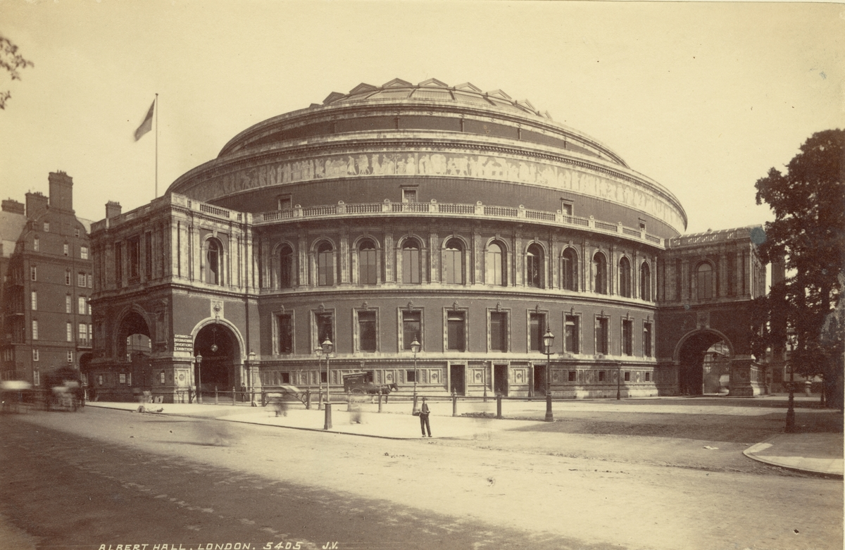 Royal Albert Hall, London, 1886.