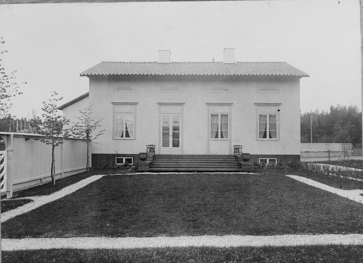 Bygge och Bo. Utställning på Lidingö 1925. Arkitekt Tage William-Olsson.