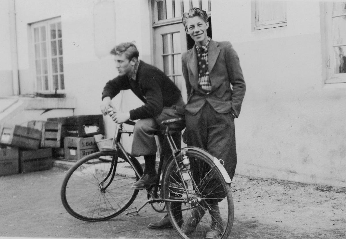 Petter Hugsted and Birger Garås