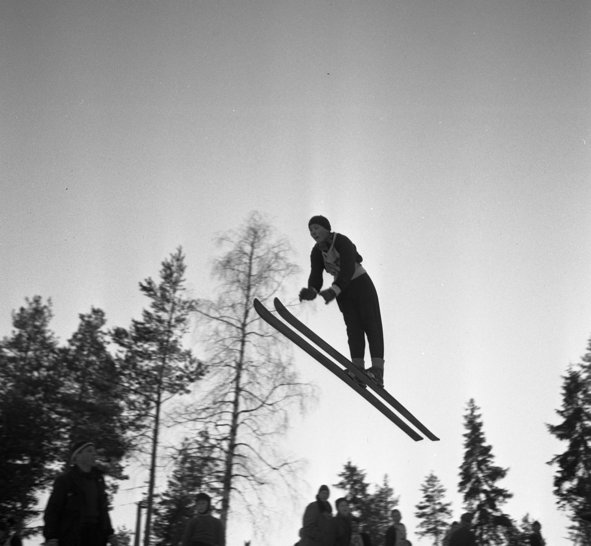 Ski jumping competiotin for young boys, Persløkka