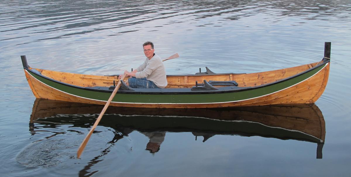 Innherredsbåten er en lettrodd og god båt. (Foto/Photo)