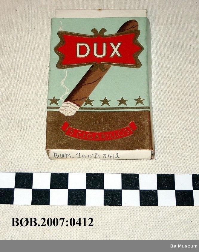 Rykende cigarillo