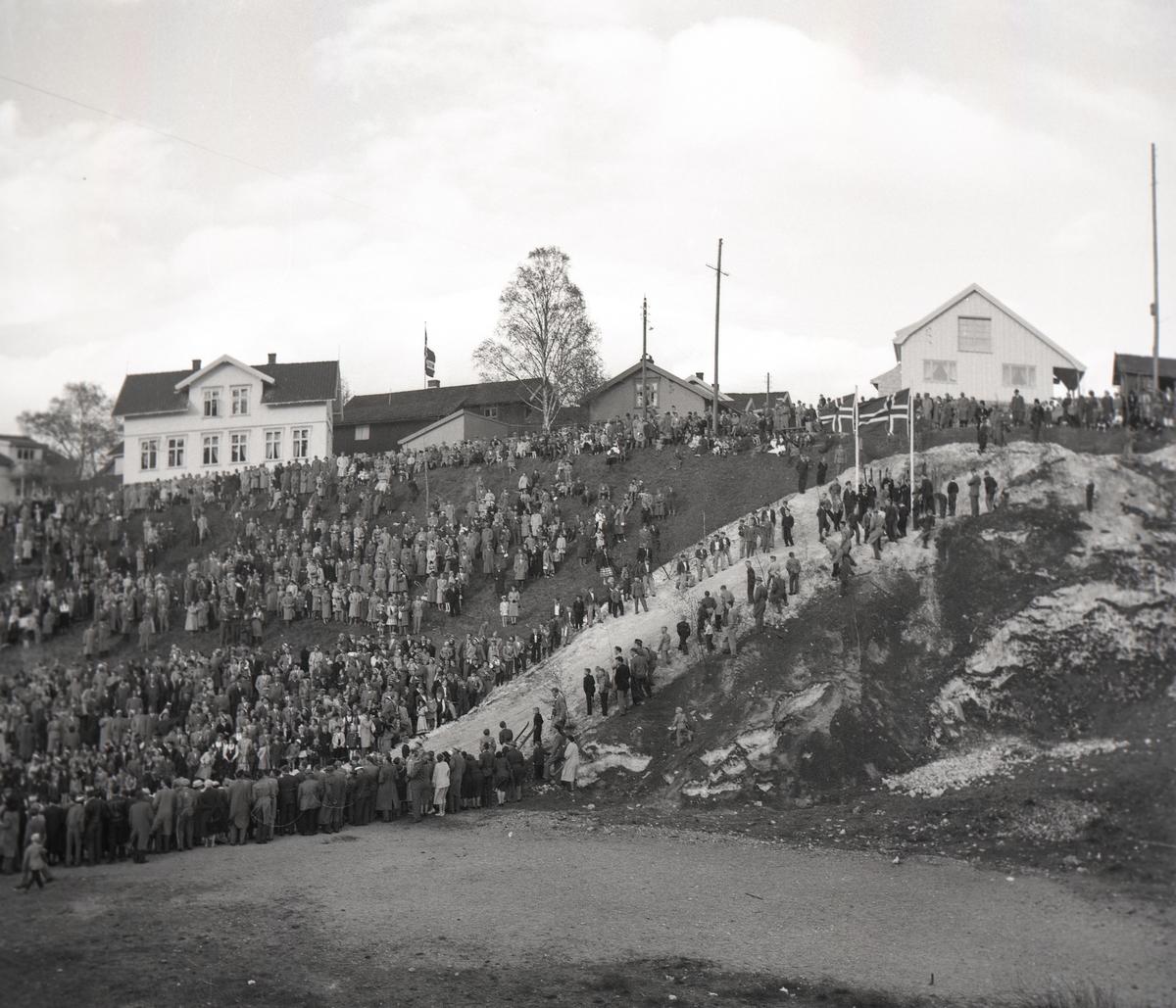 Carnival ski show at Skauløkka, Kongsberg
