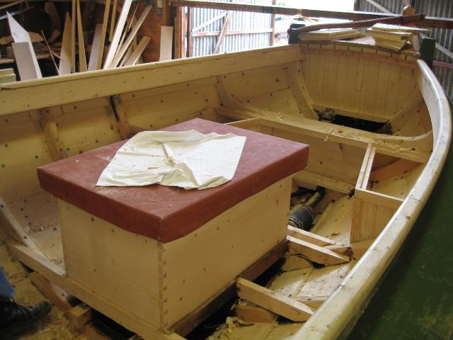 Om bord i Bjørg, bygd 2004. (Foto/Photo)