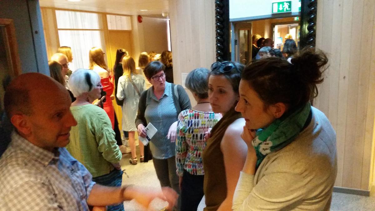 Fra åpning av utstillingen Solør-Hijab (Foto/Photo)