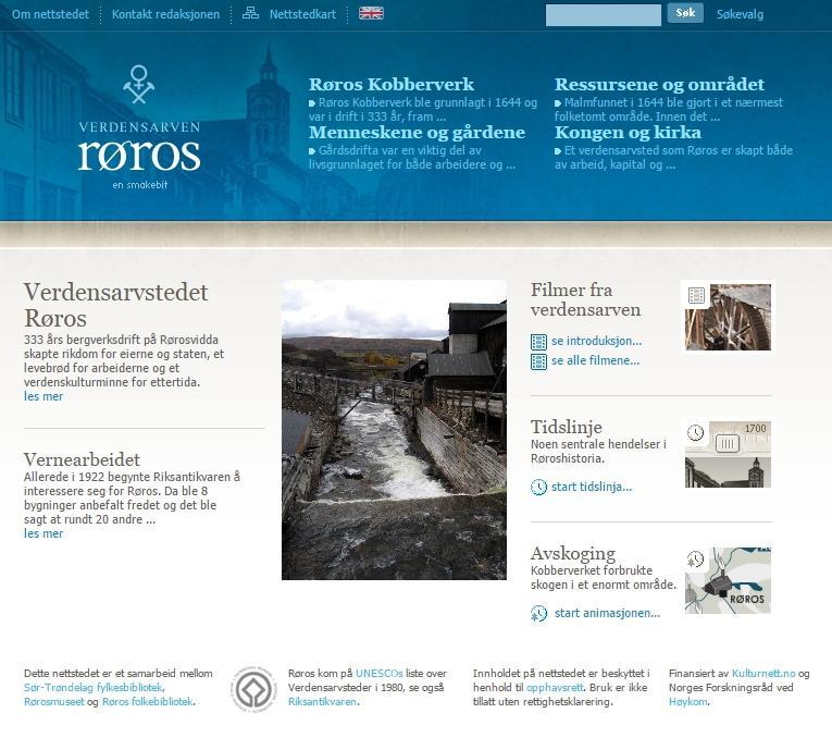 Verdensarvenroros.no. Foto/Photo