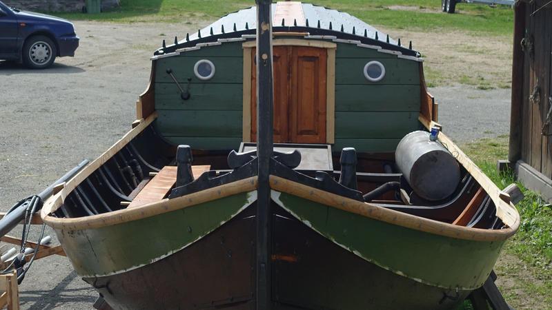 Vengbåten Skarven klar for nye eventyr.