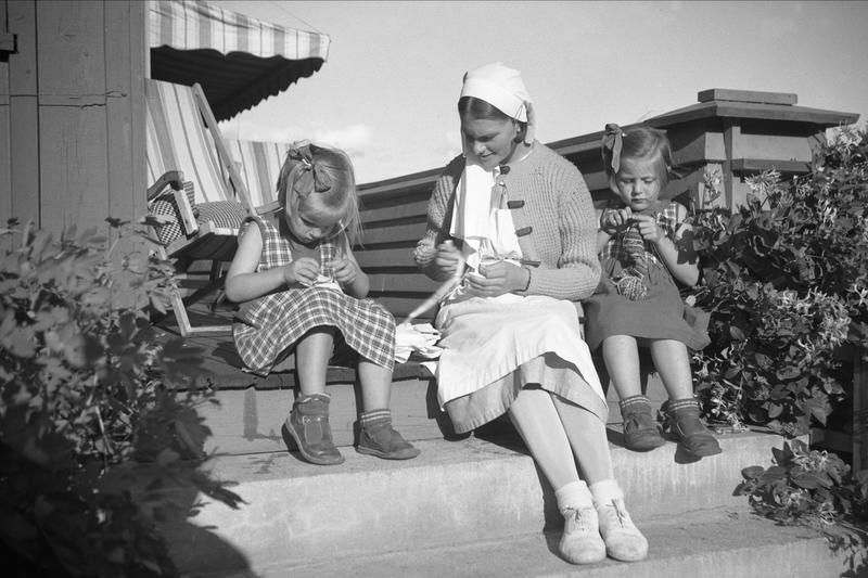 Strikking 1935 (Foto/Photo)