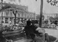 Parque Central, Havanna, mars 1920