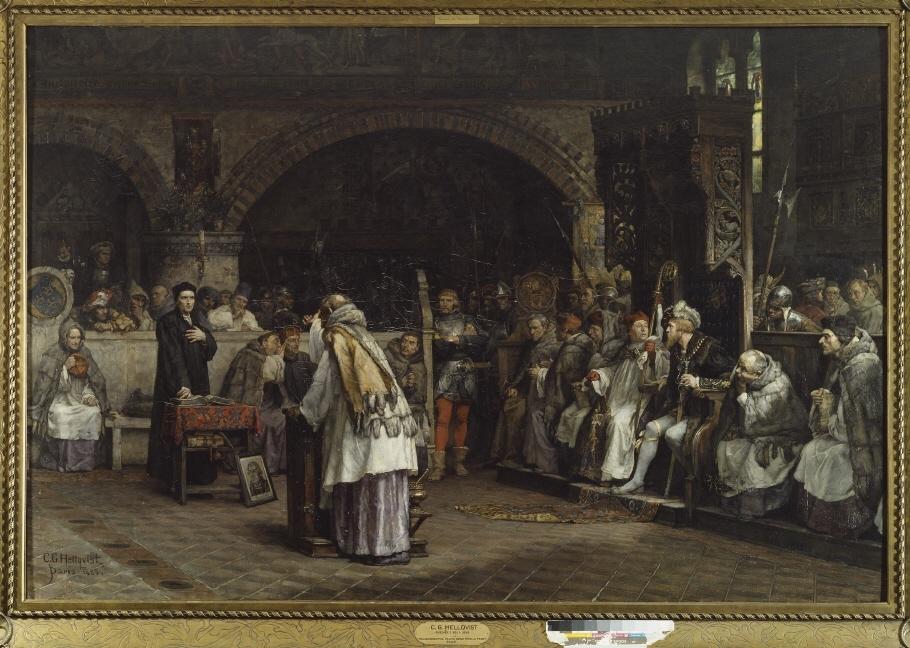 Religionssamtal mellan Olaus Petri och Peder Galle