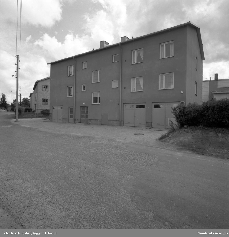 Flerfamiljshus på Krokgatan, kvarteret Ormen, Södermalm/Östermalm. Exteriörbilder.