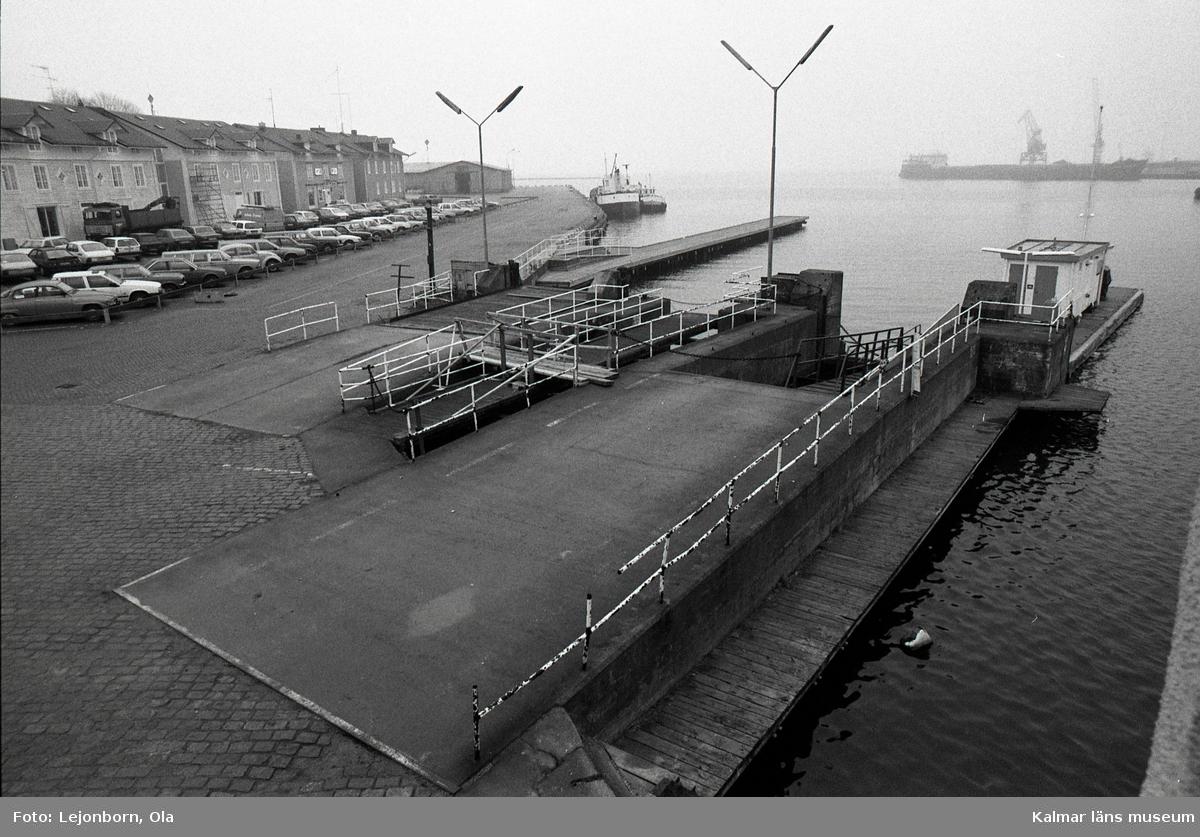 Blir det någon fiskrestaurang på gamla färjeläget i hamnen?