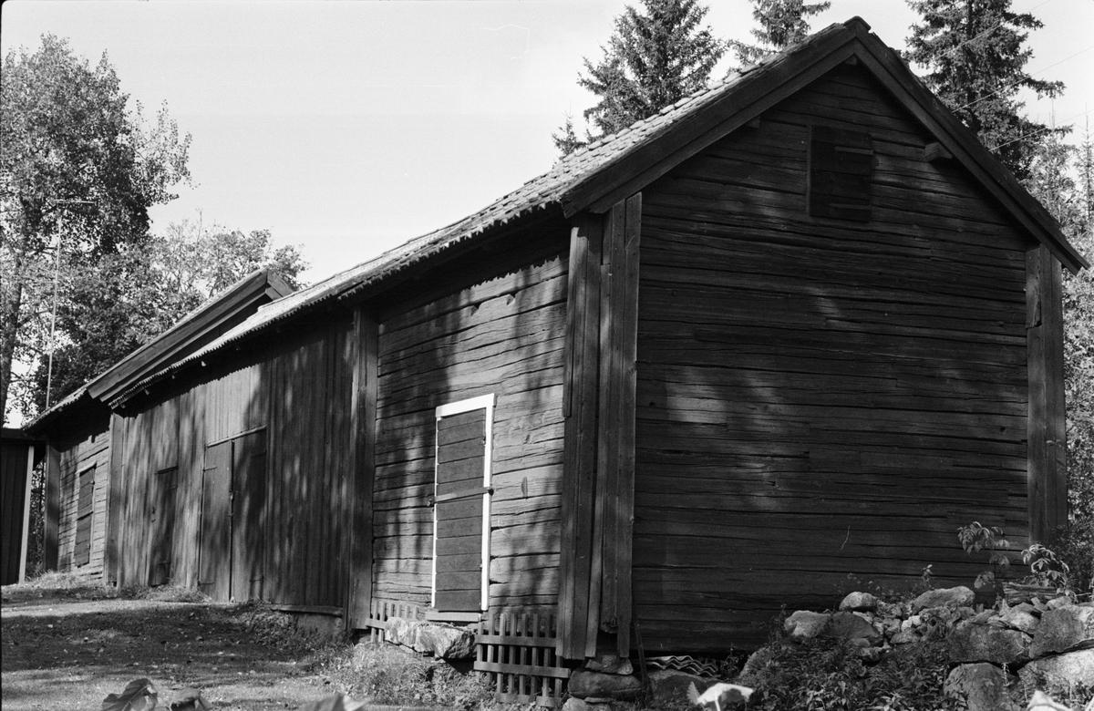Bodar och lada, Järsta 4:3, Tensta socken, Uppland 1978