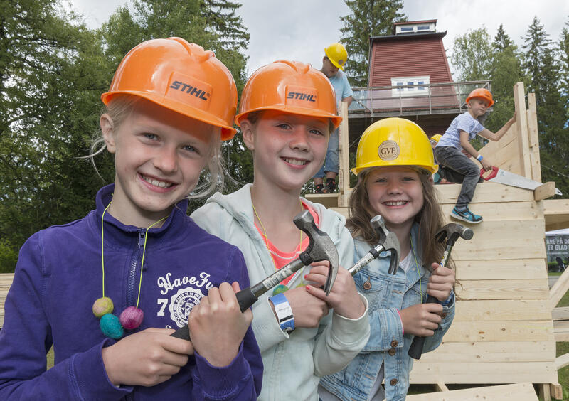 Barn i aktivitet på De nordiske jakt- og fiskedager (Foto/Photo)