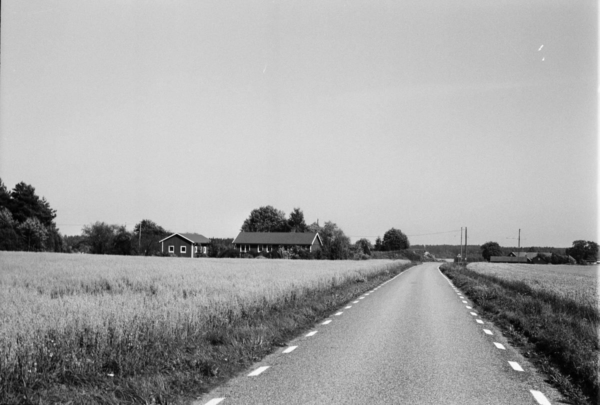Bostadshus och garage, Norrby 1:9, Skuttunge socken, Uppland 1984