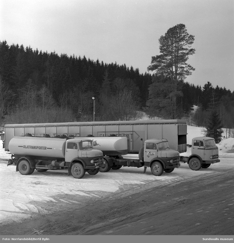 Knut Öhlunds Mercedes-lastbilar, Njurunda Transport AB.