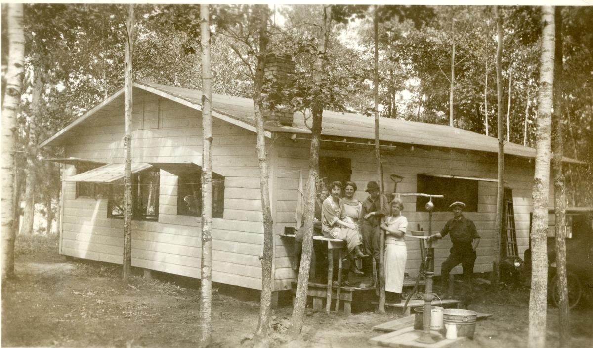 Haldor Knatvold sitt sommerhus, Nord Minnesota