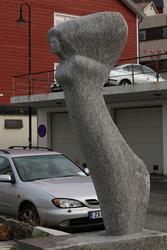 "Skulptur ""Hav"" fra Versum Origo serie."