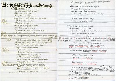 Mayhem-manuskript
