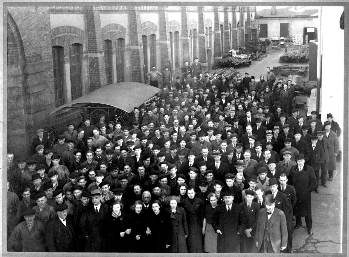 KMV-personal 1929. Fotograf okänd.