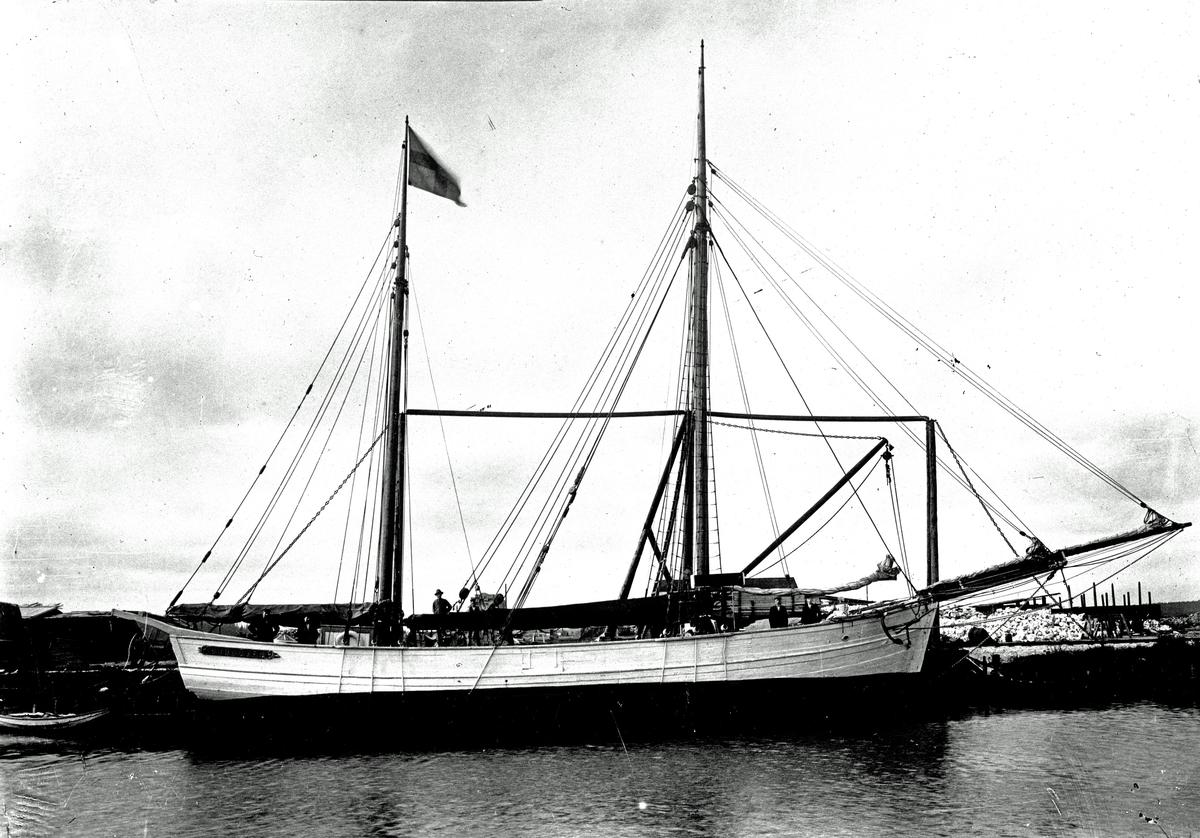 Båt, Sjölöven (Danmark). Fotograf P A Wassberg.