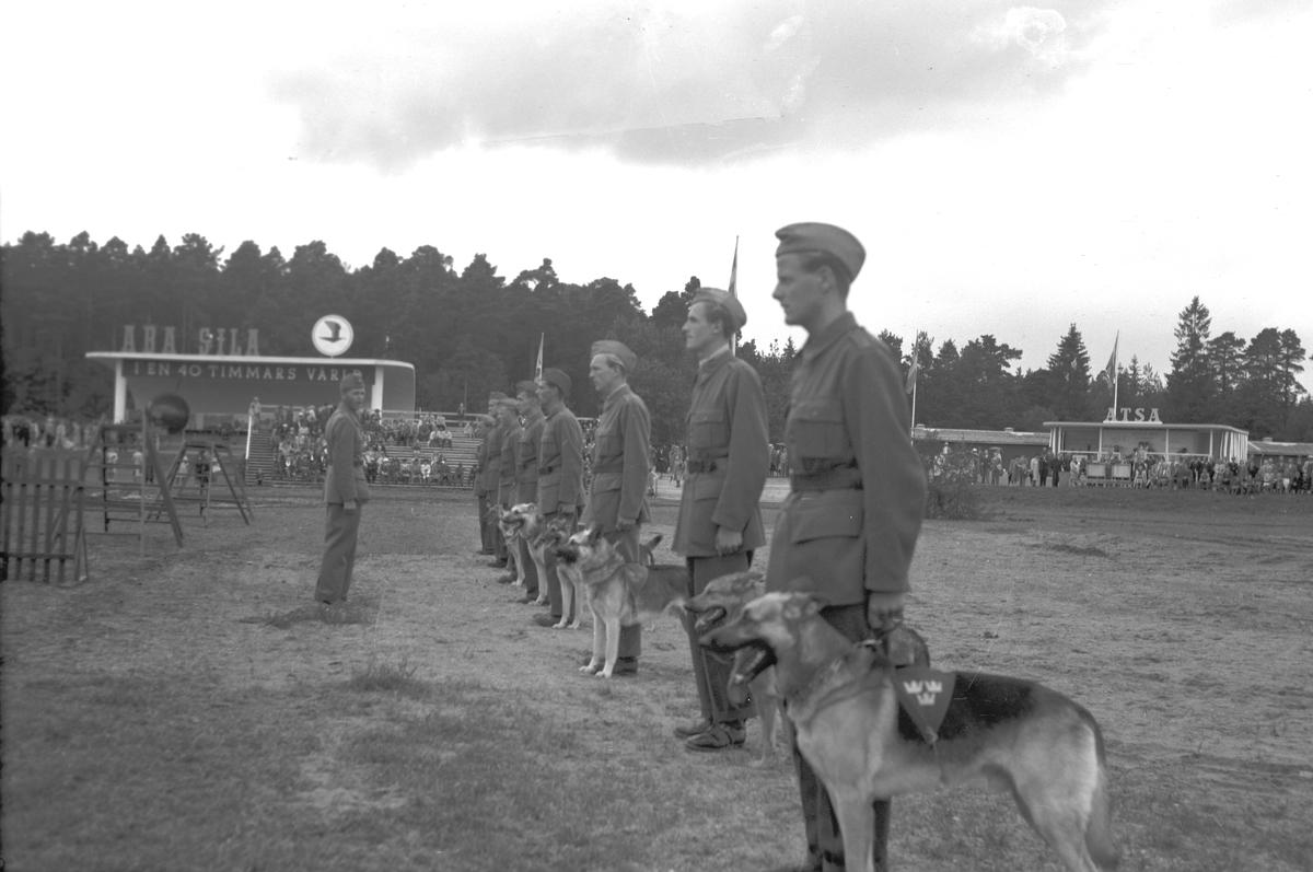 Gävleutställningen 1946 arrangerades 21 juni - 4 augusti. En utställning med anledning av Gävle stads 500-årsjubileum. På 350.000 kv.m. visade 530 utställare sina produkter. Utställningen besöktes av ca 760.000 personer.  Civilförsvaret